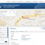 Ordine Ingegneri Udine - Contatti