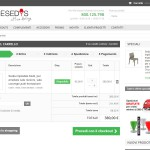 Spacesedys - Ecommerce - Carrello