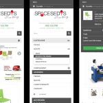 Spacesedys - Ecommerce - Mobile